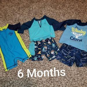 Swim Trunks, Rasher, Swim outfit